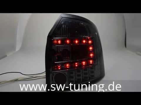 SW-Light LED Rückleuchte fürAudi A4 B6 8E Avant smoke SW-Tuning