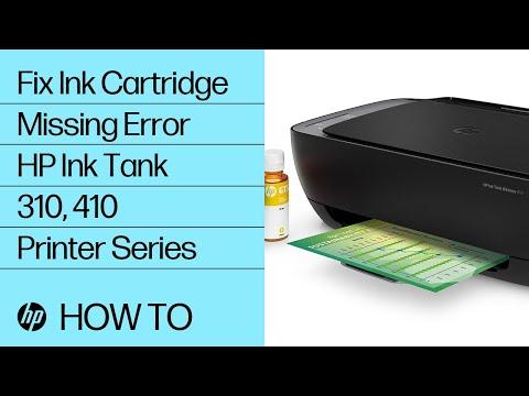 video huong dan xu li loi missing error tren may in hp ink tank 315 z4b04a
