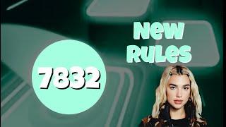 DUA LIPA - NEW RULES  | TILES HOP | ENDLESS MODE 9