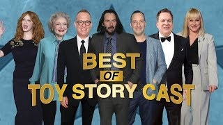 Best of 'Toy Story' Cast: Tom Hanks, Tony Hale, Keanu Reeves, Patricia Arquette and More!