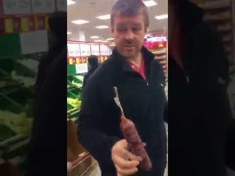 Бдительный покупатель выявил наглый обвес в супермаркете