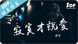 劉可 - 寂寞才說愛「高音質 x 動態歌詞 Lyrics」♪ SDPMusic ♪
