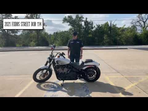 2021 HARLEY-DAVIDSON® FXBBS STREET BOB 114