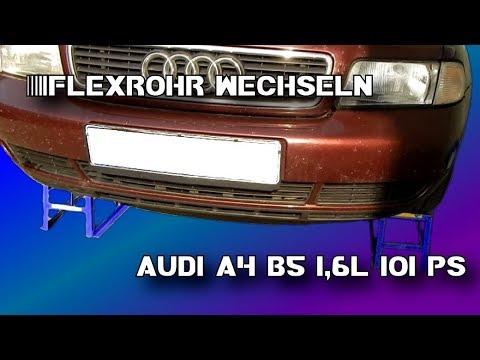 AUDI A4 B5 1.6 1.8 T  FLEXROHR WECHSELN (Deutsch)