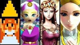 Zelda Evolution Of PRINCESS ZELDA 1986 2018 (Switch To NES)