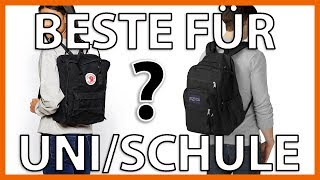 Die BESTEN Taschen für SCHULE & UNI! Meine Top 3