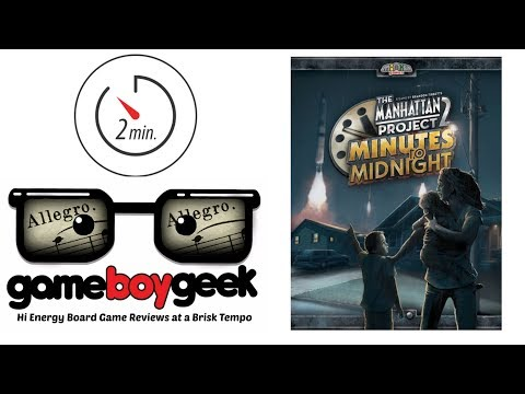 The Game Boy Geek's Allegro (2-min Review) of Minutes to Midnight