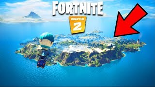 Fortnite Chapter 2 BATTLE PASS LEAKS & NEW MAP! (Gameplay)