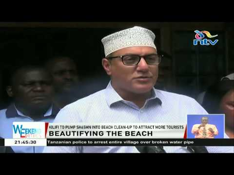 Kilifi pumps Ksh. 65 million into beach clean-up to attract more tourists