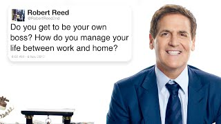 Mark Cuban Answers Business Questions From Twitter | Tech Support | WIRED