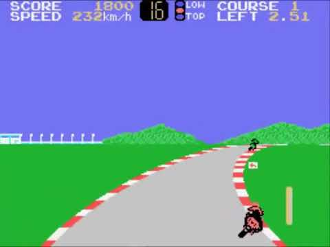Hang-On II (Japan) Sega - SG-1000 INGAME