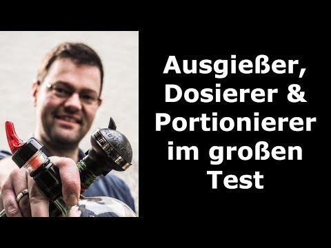 Portionierer/Dosierer (Flaschenausgießer) im Test