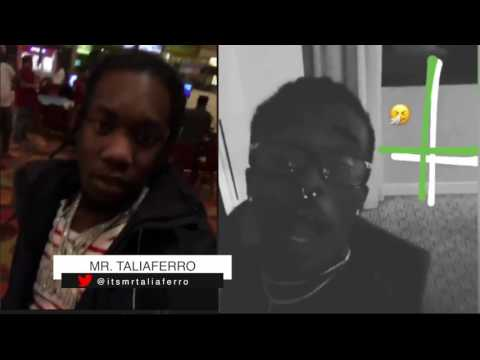 Beef? Lil Uzi Vert Trolls Offset On Snap For Trying To Stop Uzi From Wearing Backwards Jesus Pieces