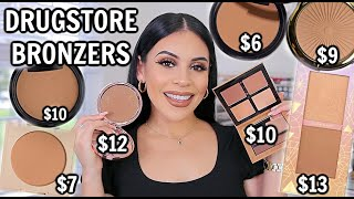 10 DRUGSTORE BRONZERS THAT BEAT HIGH END! *so good*