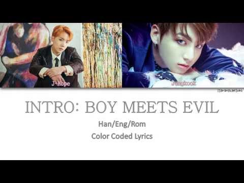 BTS (방탄소년단) - INTRO: BOY MEETS EVIL [Color Coded Han|Rom|Eng]