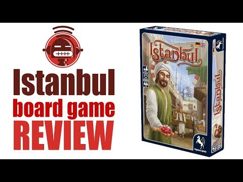 Istanbul board game video review