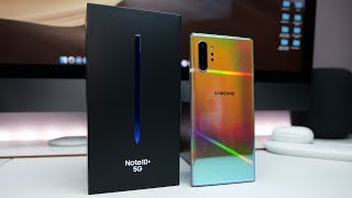 Samsung Galaxy Note 10 Plus 5G Unboxing