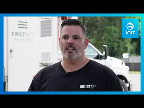 FirstNet and AT&T Get to the Areas Affected by Hurricane Laura-YoutubeVideoText