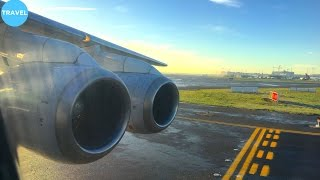 FOUR ENGINES! Stunning Brussels Airlines Avro 100 Takeoff from Brussels!
