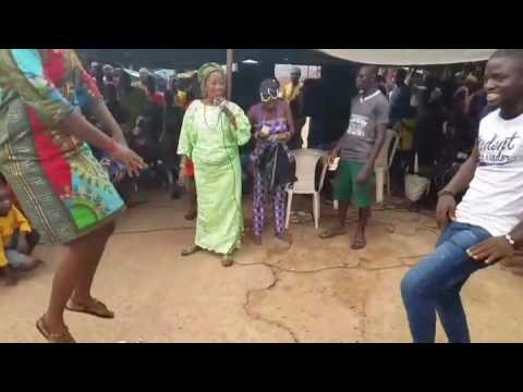 Masquerade festival,Yoruba Bata dance performance at Iseyin Oyo state Nigeria