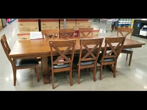 Costco Bayside Furnishings 9 Pc Dining Set 699 Sterling Wong Lifestyle Food Travel And Shopping Blog