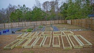 Building A Garden Part 1: Design, Planning, DIY Raised Beds & Layout