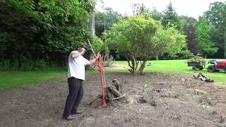 Farm Jack Collapses Whilst Trying to Lift a Stump