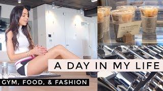 VLOG:  Day In My Life | Gym, Food, & Fashion  | Dr Mona Vand