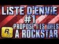 LISTE D'ENVIE #1 - PROPOSE TES IDEES A ROCKSTAR - GTA5 ONLINE