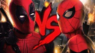 Homem-Aranha VS. Deadpool 3   Duelo De Titãs