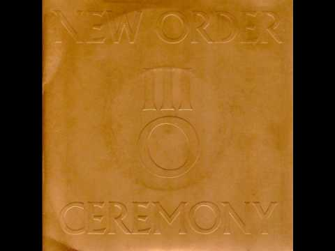 "New Order - Ceremony (Original 7"" Single Version)"