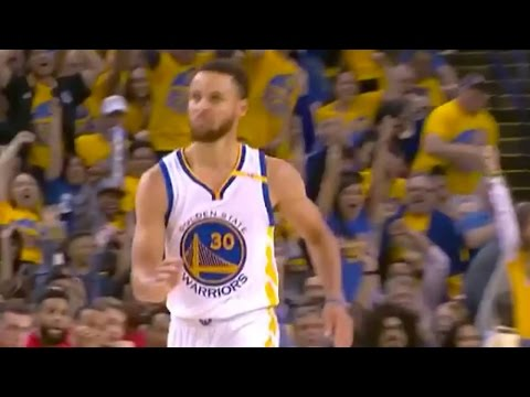 Steph Curry CELEBRATES 3-Pointer with Stone Cold Steve Austin Walk - OH, HELL YEAH!
