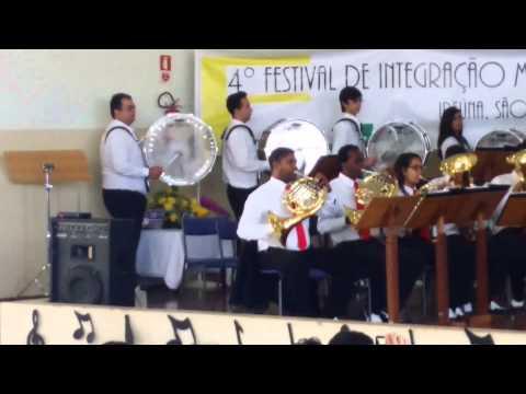 I Want to Hold Your Hands - Banda Senai de Americana em Ipeúna/SP