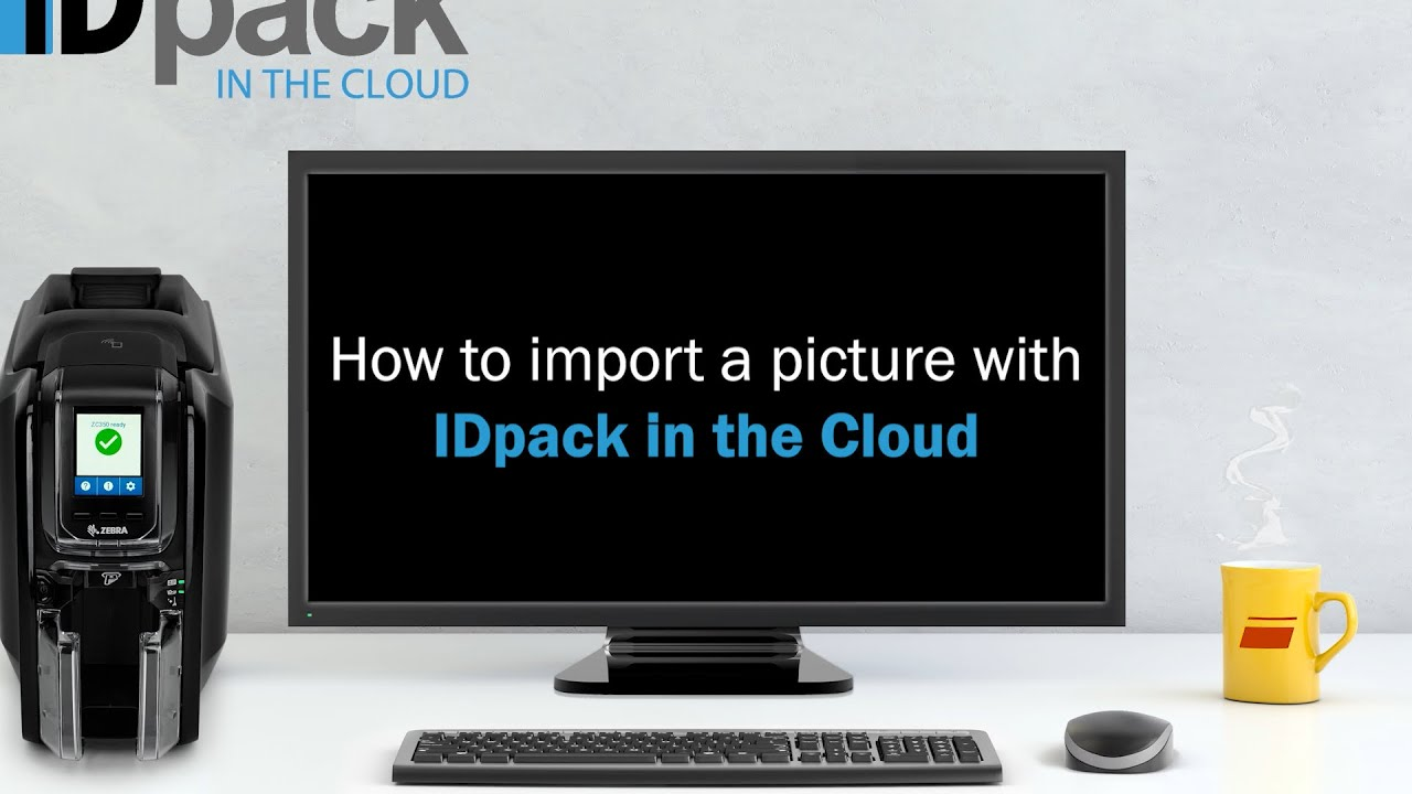 How to import a picture with IDpack in the Cloud