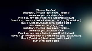 Blueface   Thotiana Remix Ft. YG (LYRICS)