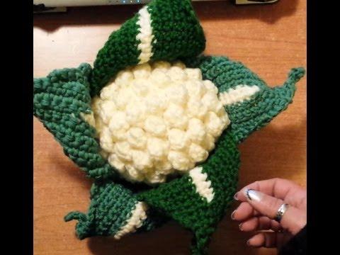 Cavolo O Cavolfiore Alluncinetto Amigurumi Tutorial Crochet