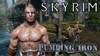 Skyrim Mod: Pumping Iron - Dynamic Muscle Growth