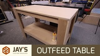 RV Aircraft Video - Shop Table From 1 Sheet of Plywood