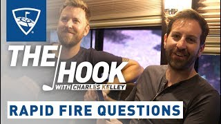 The Hook with Charles Kelley | Rapid Fire Questions - Josh Kelley | Topgolf