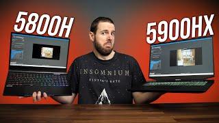 5800H vs 5900HX - Is Ryzen 9 Worth More $$$?