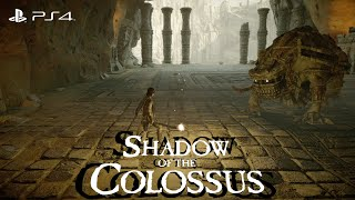 Shadow Of The Colossus Remastered PS4 Gameplay HD | 11th Colossus Celosia