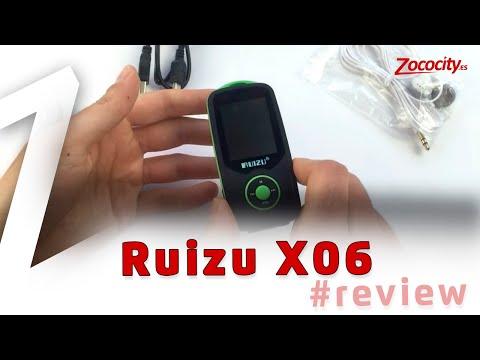 Ruizu X06 - Reproductor MP3 Bluetooth barato y de calidad