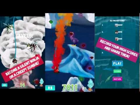 Video of FatMole - Falling game