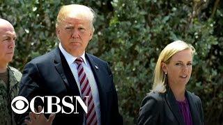 Trump may be looking to replace Secretary of Homeland Security Kirstjen Nielsen