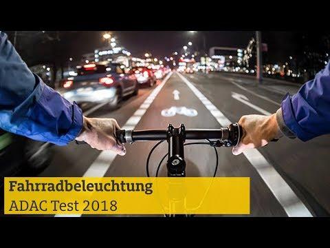 Fahrradbeleuchtung im Test I ADAC 2018