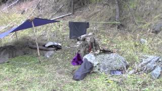 Desert Bushcraft Pack In And Fishing Experiment Free Video Search