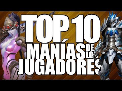 Top 10 Manías de los Jugadores - Leyendas & Videojuegos