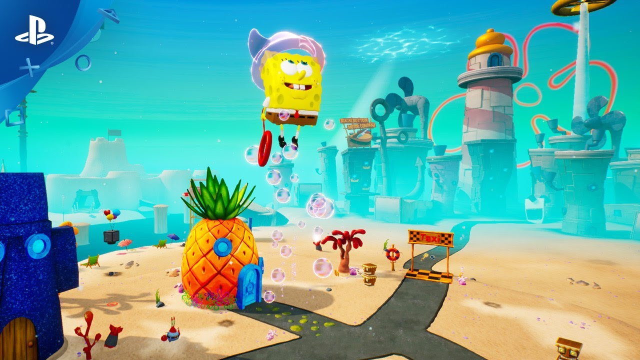 Трейлер игры SpongeBob SquarePants: Battle for Bikini Bottom - Rehydrated