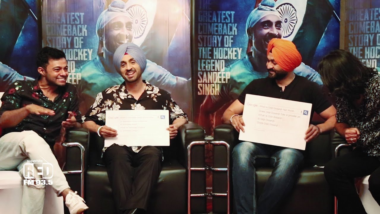 Diljit Dosanjh Answers most Googled question about him
