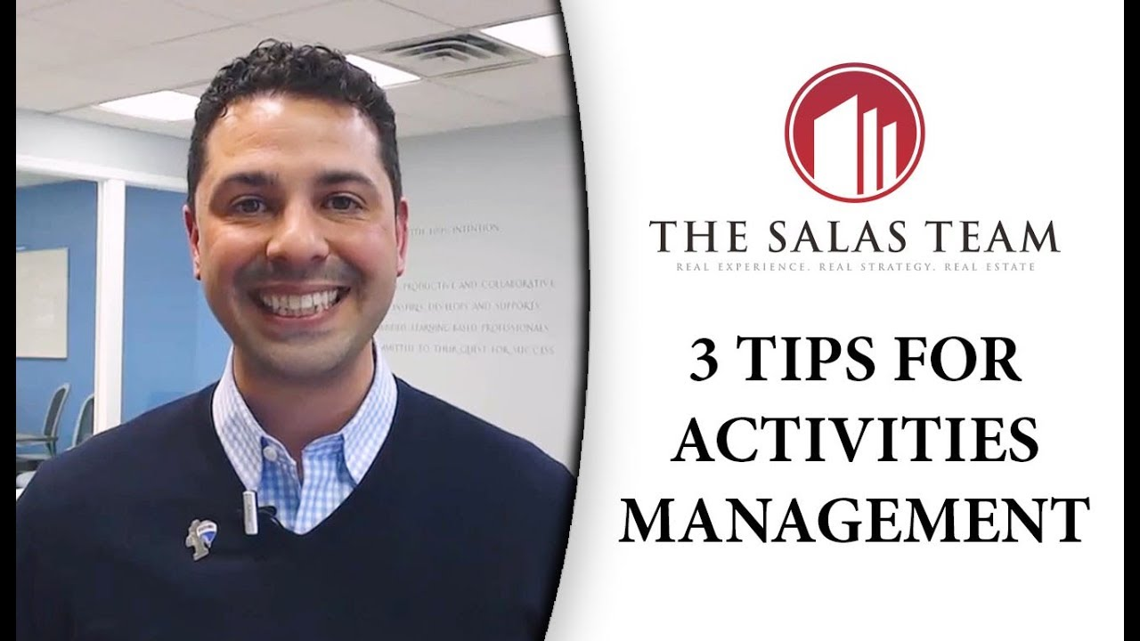 Tips on How to Effectively Manage Your Activities